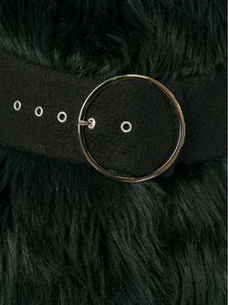 Пальто Из Искусственного Меха GIAMBA                                                                                                              черный цвет