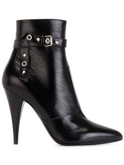 Ботильоны Hedi Saint Laurent                                                                                                              черный цвет