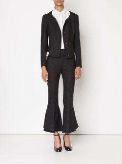 Приталенный Пиджак Mary Katrantzou                                                                                                              серый цвет