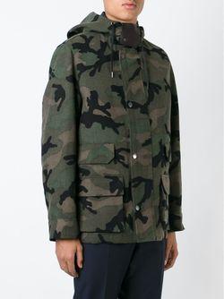 Camouflage Jacket Valentino                                                                                                              зелёный цвет