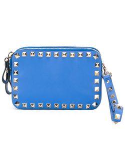Клатч Rockstud Valentino Garavani                                                                                                              синий цвет