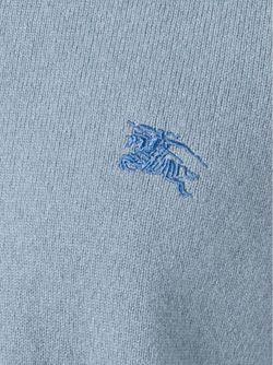 Свитер С Круглым Вырезом Burberry Brit                                                                                                              синий цвет