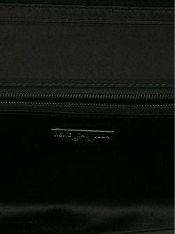 Фактурный Клатч Rene' Caovilla                                                                                                              чёрный цвет