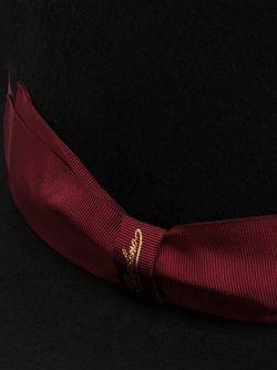 Фетровая Шляпа С Контрастной Лентой Borsalino                                                                                                              чёрный цвет
