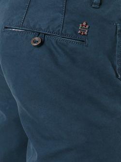 Классические Чиносы Incotex                                                                                                              синий цвет