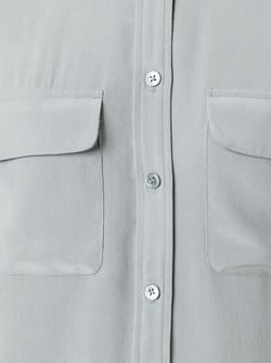 Рубашка С Карманами Equipment                                                                                                              серый цвет