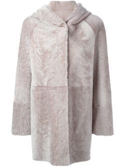 Двухстороннее Пальто С Капюшоном Drome                                                                                                              розовый цвет