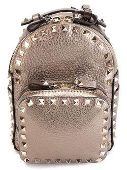 Рюкзак Rockstud Valentino Garavani                                                                                                              серый цвет