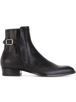 Ботинки По Щиколотку Hedi Saint Laurent                                                                                                              черный цвет