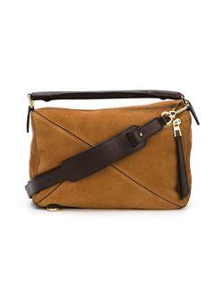 Small Puzzle Tote Bag Loewe                                                                                                              коричневый цвет