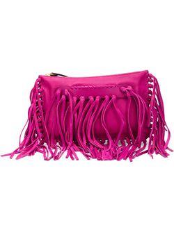 Клатч С Бахромой Valentino Garavani                                                                                                              розовый цвет