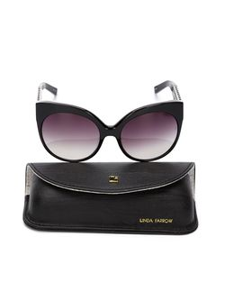 388 Sunglasses Linda Farrow                                                                                                              чёрный цвет
