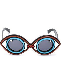 Солнцезащитные Очки Yazbukey 2 Linda Farrow                                                                                                              синий цвет