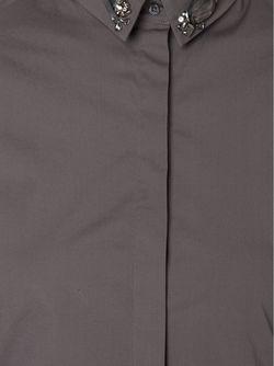Embellished Collar Shirt Dorothee Schumacher                                                                                                              серый цвет