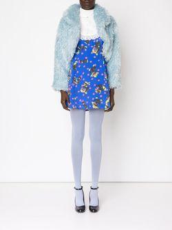 Cropped Shaggy Jacket Jeremy Scott                                                                                                              синий цвет