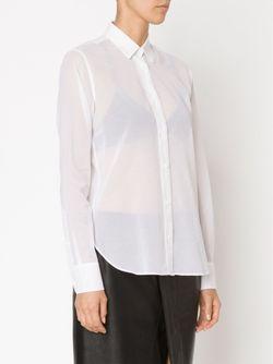 Longsleeved Sheer Shirt Helmut Lang                                                                                                              белый цвет