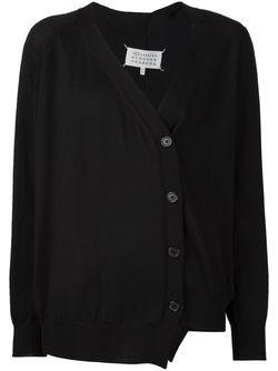 Асимметричный Кардиган Maison Margiela                                                                                                              черный цвет