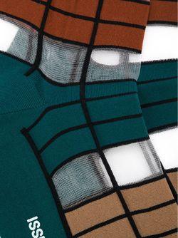 Striped Socks Issey Miyake                                                                                                              зелёный цвет