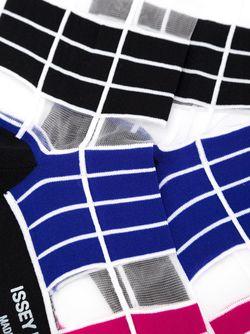 Long Striped Socks Issey Miyake                                                                                                              черный цвет