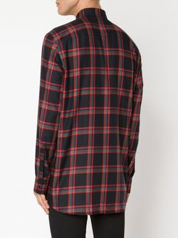 Рубашка В Клетку Givenchy                                                                                                              красный цвет