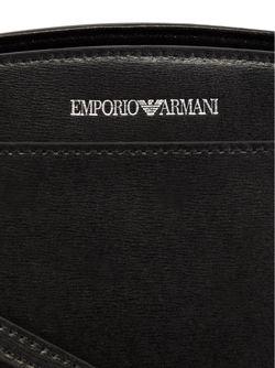 Сумка-Тоут На Молнии Emporio Armani                                                                                                              чёрный цвет