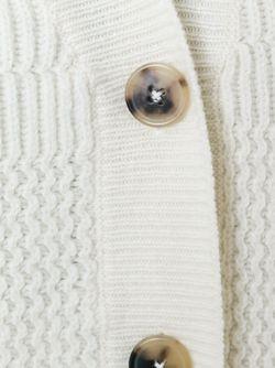 Трикотажный Кардиган Maison Margiela                                                                                                              белый цвет