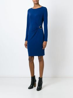 Gathered Jersey Dress Michael Michael Kors                                                                                                              синий цвет