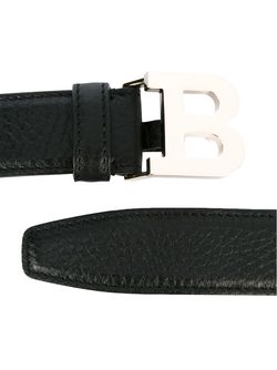 Logo Buckle Belt Bally                                                                                                              чёрный цвет