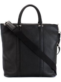 Сумка-Тоут С Тисненым Логотипом Bally                                                                                                              чёрный цвет