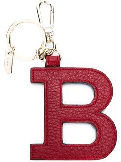Logo Keyring Bally                                                                                                              красный цвет