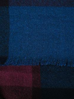Check Print Scarf Burberry                                                                                                              синий цвет