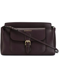 Small Saddle Bag Burberry                                                                                                              красный цвет