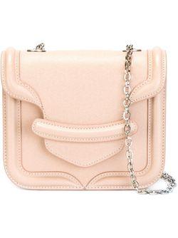 Сэтчел Heroine Mini Chain Alexander McQueen                                                                                                              розовый цвет