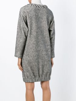 Long Sleeve Sweatshirt Dress See By Chloe                                                                                                              серый цвет