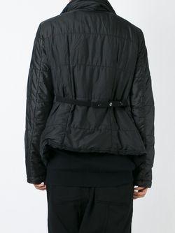 Дутая Куртка С Запахом RICK OWENS DRKSHDW                                                                                                              чёрный цвет