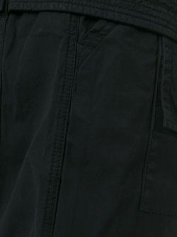 Шорты-Карго С Заниженной Проймой RICK OWENS DRKSHDW                                                                                                              черный цвет