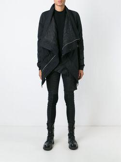 Куртка Со Смещенной Застежкой RICK OWENS DRKSHDW                                                                                                              черный цвет