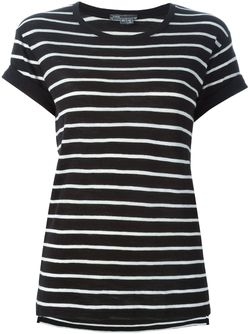 Striped T-Shirt Vince                                                                                                              черный цвет