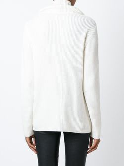Ribbed Cowl Neck Sweater Vince                                                                                                              Nude & Neutrals цвет