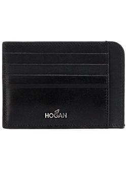 Визитница С Логотипом Hogan                                                                                                              черный цвет