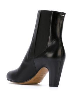 Ботинки Челси На Каблуках-Столбиках Maison Margiela                                                                                                              черный цвет