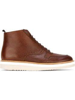 Ботинки На Шнуровке Louis 10 Swear                                                                                                              коричневый цвет
