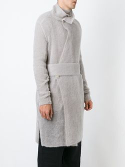 Кардиган-Пальто Rick Owens                                                                                                              серый цвет