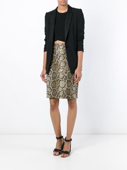 Python Print Pencil Skirt Michael Michael Kors                                                                                                              многоцветный цвет