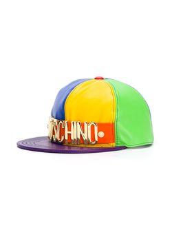 Бейсболка Колор-Блок Moschino                                                                                                              многоцветный цвет