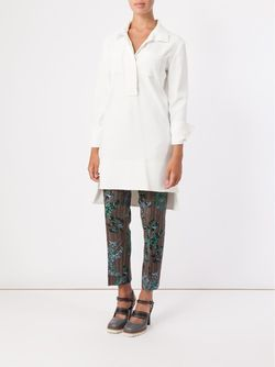 High-Low Hem Tunic Marni                                                                                                              белый цвет