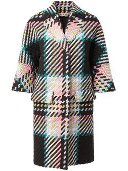 Твидовое Пальто Marni                                                                                                              чёрный цвет