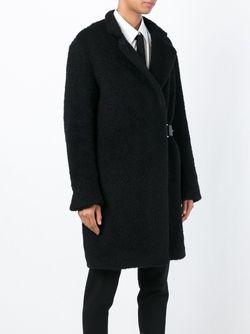 Пальто С Пряжкой Eleventy                                                                                                              черный цвет