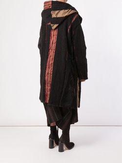 Patchwork Oversize Coat UMA WANG                                                                                                              чёрный цвет