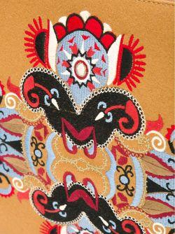Клатч С Вышивкой Mauro Grifoni                                                                                                              Nude & Neutrals цвет